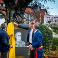 """Inauguration du """"Square Eddy Mercx"""", à Woluwe-Saint-Pierre, le 28 Mars 2019"""