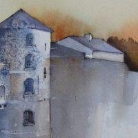 """Aquarelles de l' """"ENAM"""", à la """"Galerie du Beffroi"""", à Namur, jusqu'au 13 Août"""