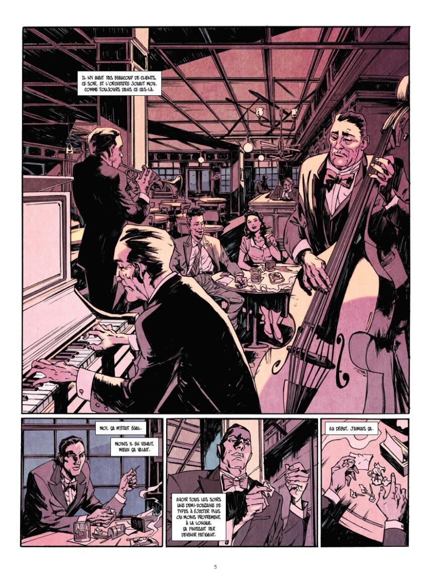 «Collection BD Vernon Sullivan» (Ed. «Glénat»), inspirée des romans de Boris Vian