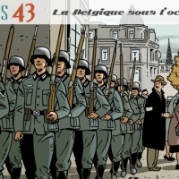 """BD : """"Bruxelles 43"""" (Baudouin Deville et Patrick Weber / Ed. """"Anspach"""")"""