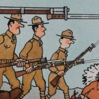 """""""Hergé, Tintin et les Américains"""" (Philippe Goddin / Ed. """"Moulinsart"""")"""