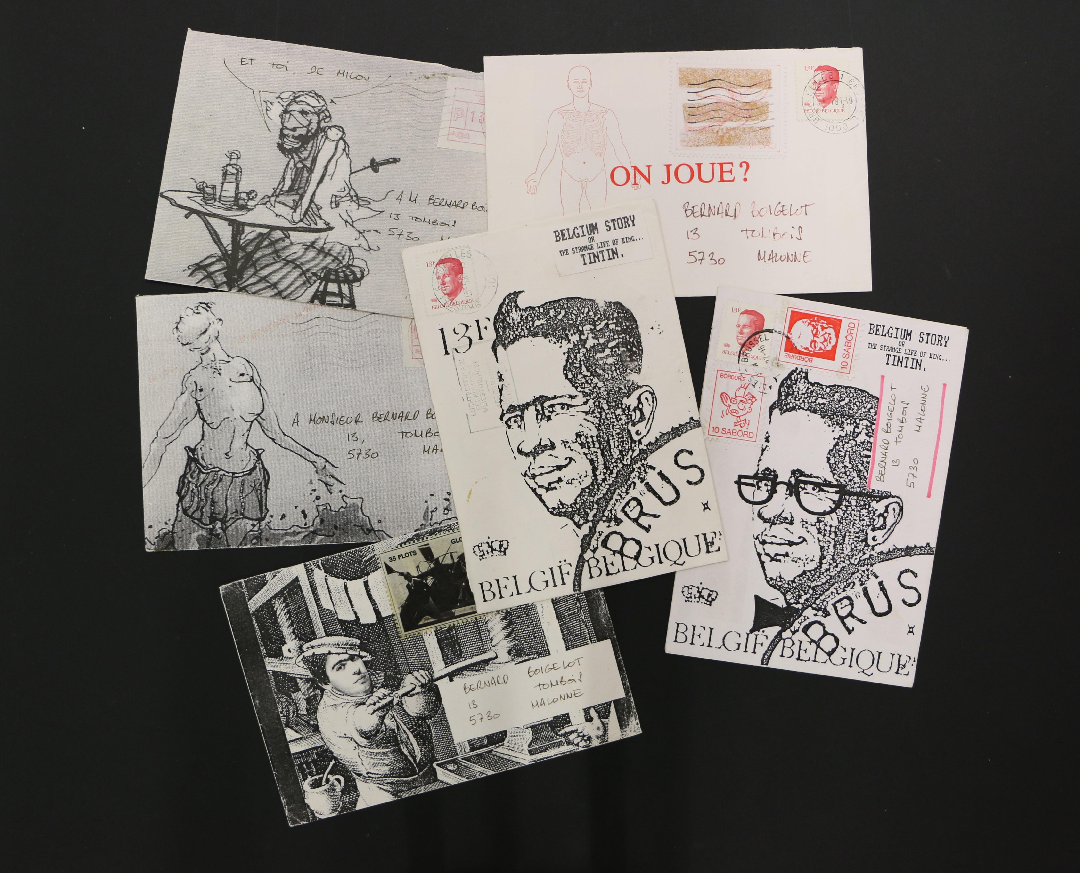 """""""Mail Art"""", Margaret Harrison et autres Expos, au """"BPS 22"""", à Charleroi, jusqu'au 23 mai"""