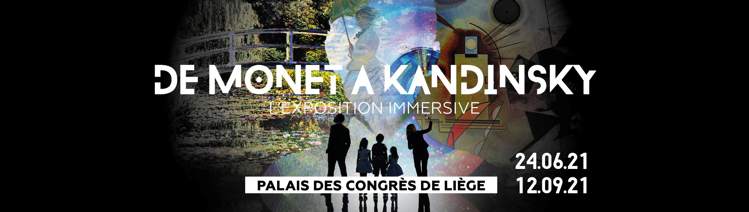 """""""De Monet à Kandinsky, vers le Modernisme"""", a Liege, jusqu'au 12 SEPTEMBRE"""